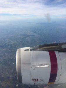 Flug nach Cambodia