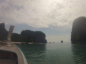 Fahrt mit dem Longtailboat