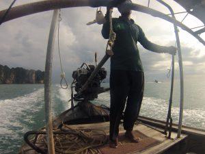 Longtailboat Motor