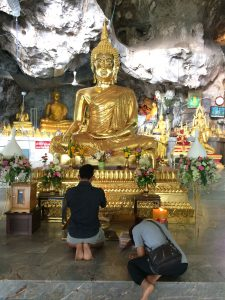 Praying for Buddha